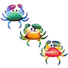 image of Crab Collection Metal Wall Décor