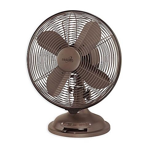 Buy Minka Aire 174 Retro 10 Inch Oscillating Table Fan In Oil