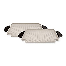 image of George Foreman® Evolve Grill Ceramic Grill Plates (Set of 2)