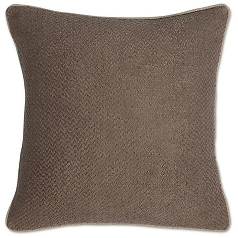 Villa home razia 22 inch square throw pillow bed bath for Villa home collection pillows