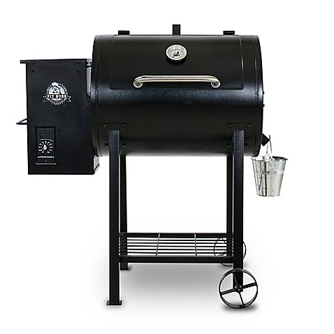Outdoor gas grills charcoal grills electric smokers bed bath pit boss 71700fb wood pellet grill with flame broiler fandeluxe Choice Image