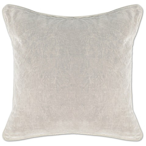 Villa Home Decorative Pillows : Villa Home Heirloom Velvet Square Throw Pillow - Bed Bath & Beyond