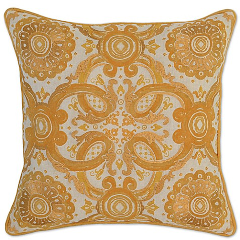 Villa Home Decorative Pillows : Villa Home Grandeur Square Throw Pillow - Bed Bath & Beyond