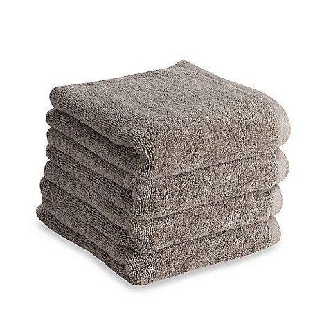 Tranquility Hand Towel In Grey Set Of 4 Bed Bath Amp Beyond