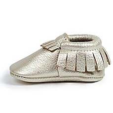 image of Freshly Picked Moccasins in Platinum