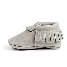 image of Freshly Picked Moccasins in Light Grey
