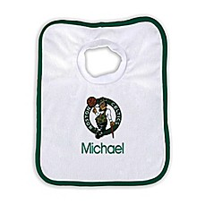 image of Designs by Chad and Jake NBA Personalized Boston Celtics Bib