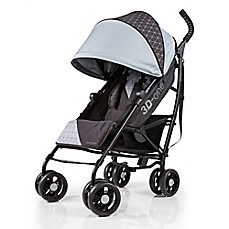 image of Summer Infant® 3D-one™ Convenience Stroller in Flint Grey/Black