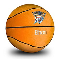 image of Designs by Chad and Jake NBA Oklahoma City Thunder Personalized Plush Basketball