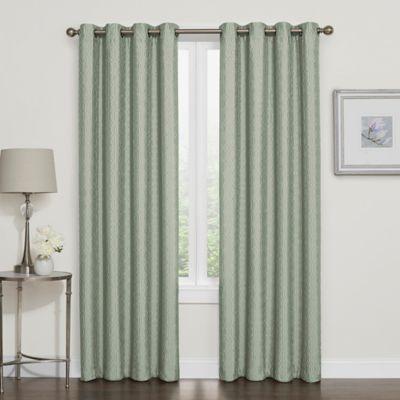 Darcy Blackout Grommet Top Window Curtain Panel & Window Curtains \u0026 Drapes - Grommet Rod Pocket \u0026 more styles | Bed ...