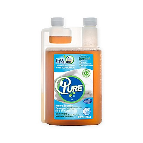 Pure 64 Oz Natural Laundry Detergent Bed Bath Beyond