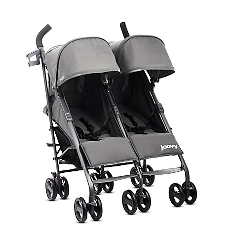 Joovy® Twin Groove Ultralight Umbrella Stroller in Charcoal