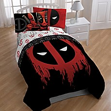 image of Marvel® Deadpool Bedroom Set
