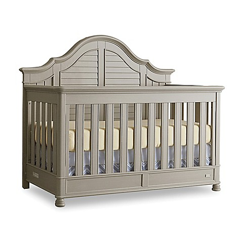 Bassettbaby® PREMIER Nantucket 4-in-1 Convertible Crib in Oyster Grey