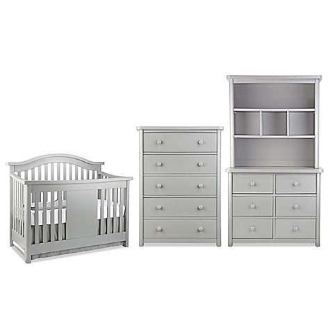 Baby Appleseed Stratford Nursery Furniture Collection In Moon Grey Buybuy Baby