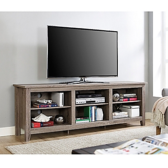 Image Of Walker Edison 70 Inch Wood TV Stand