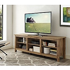 image of Walker Edison 70-Inch Barnwood TV Stand
