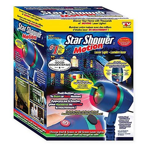 Star shower motion laser light bed bath beyond for Projecteur laser star shower motion