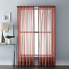 Red Window Curtains Amp Drapes Bed Bath Amp Beyond