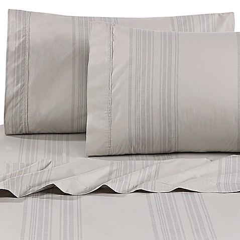beekman 1802 esperance fitted sheet bed bath beyond. Black Bedroom Furniture Sets. Home Design Ideas