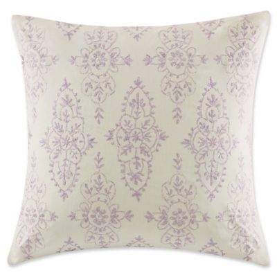 Echo Design Throw Pillows : Echo Design Florentina Throw Pillow in Ivory - Bed Bath & Beyond