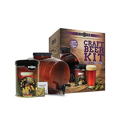 buy mr beer long play ipa craft beer kit from bed bath. Black Bedroom Furniture Sets. Home Design Ideas