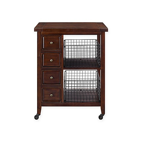 Crosley Furniture Sienna Kitchen Cart Bed Bath Beyond