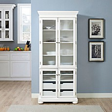Image Of Crosley Alexandria Kitchen Pantry In White
