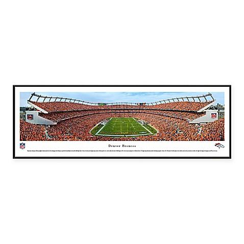 NFL Denver Broncos End Zone Mile High Stadium Standard Panoramic ...