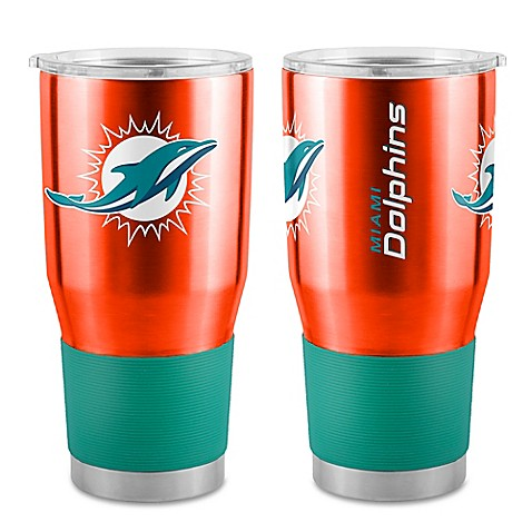 Nfl Miami Dolphins 30 Oz Ultra Tumbler Bed Bath Amp Beyond