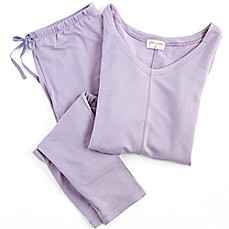 image of Delilah Long-Sleeved Loungewear Set
