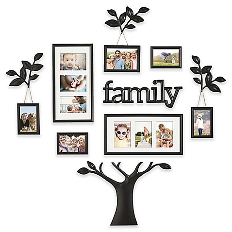 Wallverbs 12 Piece Quot Family Quot Branch Finial Tree Photo