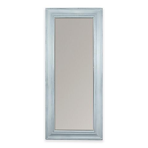 30 Inch X 70 Floor Mirror In Light Blue