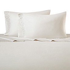 image of Natori Wisteria Pillowcases in White (Set of 2)