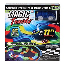 image of Magic Tracks™ 220-Piece Glowing Track Set