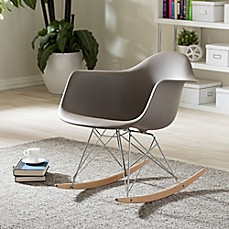 image of Baxton Studio Dario Rocking Chair