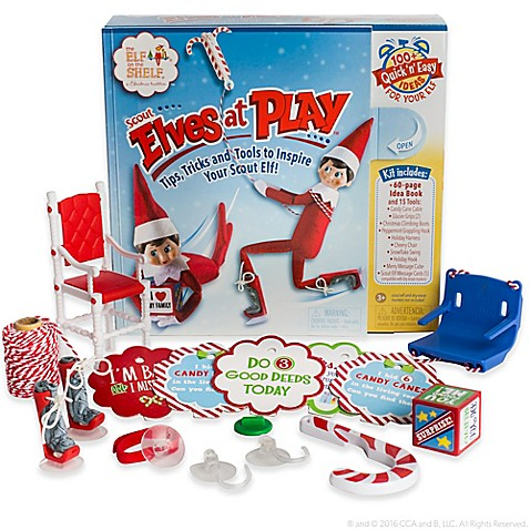 The Elf on the Shelf® Scout Elves at Play™ Scout 15-Piece Adventure Kit