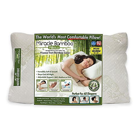 Miracle Deluxe Pillow Bed Bath Amp Beyond