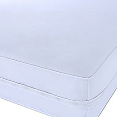 image of Clean Living Polyester Microfiber Stain and Water Resistant Mattress Protector