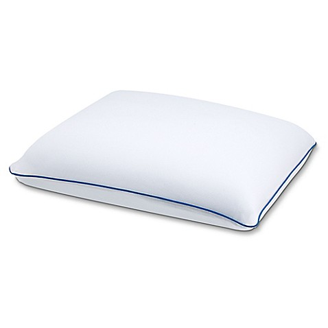 buy serta gel memory foam pillow with cooling gel hd from bed bath beyond. Black Bedroom Furniture Sets. Home Design Ideas
