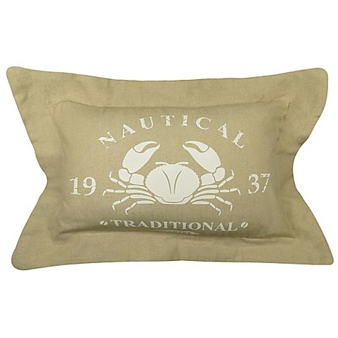Park B Smith 174 Quot Nautical Traditional Marine Quot Oblong Throw