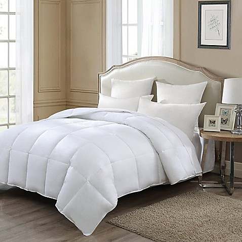 J queen new york reversible down alternative comforter bed bath beyond for Home design alternative comforter