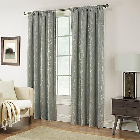 Buy Pinehurst 63 Inch Rod Pocket Window Curtain Panel In