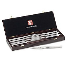 image of Zwilling® J.A. Henckels 8-Piece Stainless Steel Steak Knife Gift Set