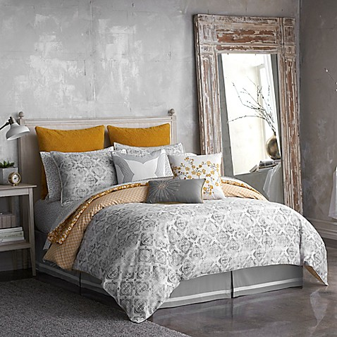 Seville Tiled Reversible Comforter Set
