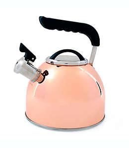 Tetera Prime Gourmet®, de acero inoxidable bañado en cobre, 2.36 L