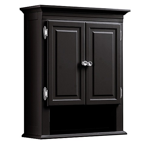 bathroom cabinets bed bath and beyond buy wakefield wall cabinet in espresso from bed bath amp beyond 24838