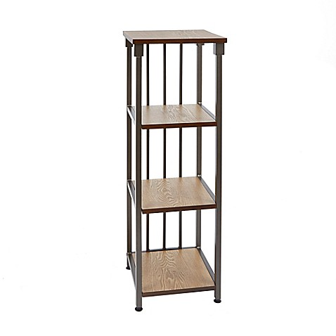 silverwood 4 tier bathroom floor shelf bed bath beyond