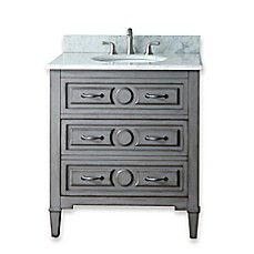 image of Avanity Kelly 30-Inch Bathroom Vanity Combo in Grey Blue