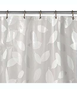 Cortina de baño de vinilo color blanco